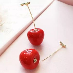 Jewelry - New! Cherry Drop Earrings